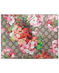 Gucci - GG Blooms Large Cosmetic Case - Lyst
