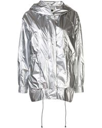 Apparis Nadia Hooded Coat - Metallic