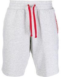 Emporio Armani Shorts mit Kordelzug - Grau