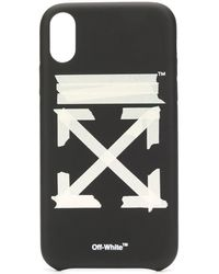 Off-White c/o Virgil Abloh 'Tape Arrow' iPhone XR-Hülle - Schwarz