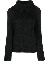 Mulberry May Roll Neck Jumper - Black