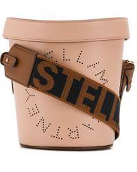 Stella McCartney ステラロゴ バケットバッグ - ピンク