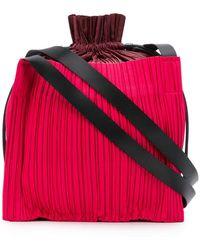 Pleats Please Issey Miyake - Pleated Shoulder Bag - Lyst
