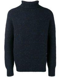 Drumohr - Knitted Roll-neck Jumper - Lyst