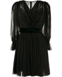 Dolce & Gabbana - ドレープ ドレス - Lyst