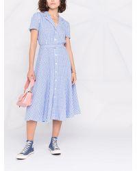 Polo Ralph Lauren - チェック シャツドレス - Lyst
