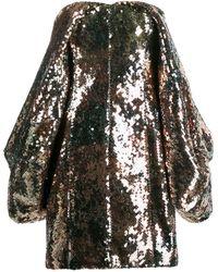 Halpern - Vestito corto con paillettes - Lyst
