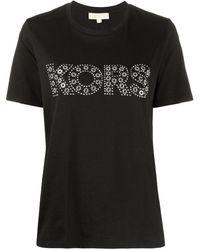 MICHAEL Michael Kors Футболка С Декорированным Логотипом - Черный