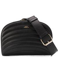 A.P.C. Stitched Belt Bag - Black