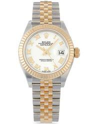 Rolex 2021 Unworn Lady-datejust 28mm - White