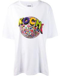 Koche - プリント Tシャツ - Lyst