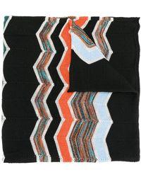 M Missoni - Zigzag Intarsia Scarf - Lyst