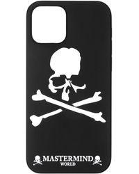 MASTERMIND WORLD Iphone 12/12 Pro Phone Case - Black