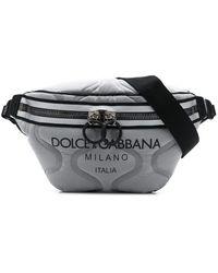 Dolce & Gabbana ロゴ ベルトバッグ - グレー