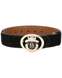 Billionaire - Emblem Crest Buckle Belt - Lyst