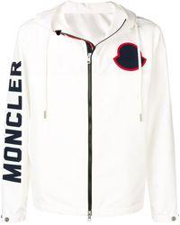 Moncler Худи С Логотипом - Белый