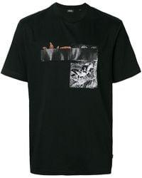 DIESEL T-just-xr Tシャツ - ブラック