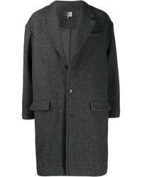 Isabel Marant Классическое Однобортное Пальто - Черный