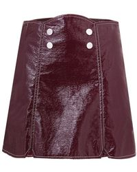 Misha Nonoo - 'vivienne Snap Front' Skirt - Lyst