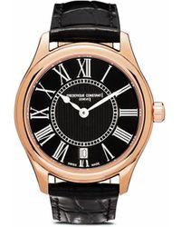 Frederique Constant Наручные Часы Classic Lady Quartz 36 Мм - Розовый