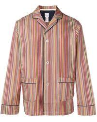 Paul Smith Полосатая Пижама - Красный