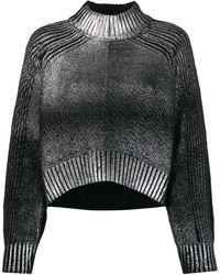 DIESEL Dégradé プルオーバー - ブラック