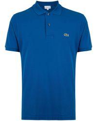 Lacoste ロゴ ポロシャツ - ブルー