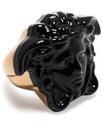Versace Кольцо С Декором Medusa - Черный
