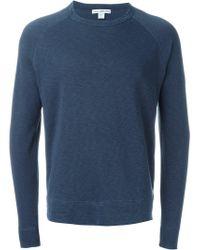 James Perse - Classic Sweatshirt - Lyst