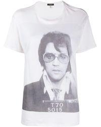 R13 - Elvis T-70 Boy Tシャツ - Lyst