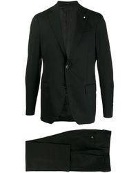 Lardini Tailored Two-piece Suit - Black