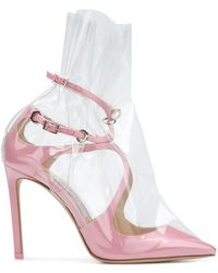 Off-White c/o Virgil Abloh - Zapatos de tacón C/O Jimmy Choo Claire 100 - Lyst