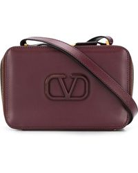 Valentino Garavani Vスリング ショルダーバッグ - パープル
