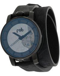 FOB PARIS Наручные Часы R360 Matte Black 36 Мм - Черный