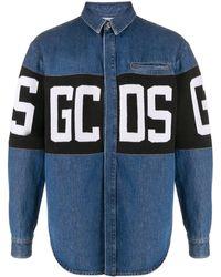 Gcds - デニムシャツ - Lyst