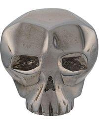 Northskull Skull Earring - Black