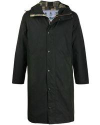 Barbour フーデッドコート - グリーン