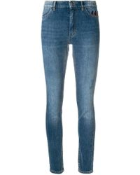 Marc Cain - Faded Slim Fit Jeans - Lyst