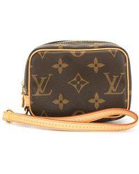 Louis Vuitton 2005 プレオウンド ワピティ コインケース - ブラウン