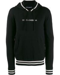 Dolce & Gabbana - Худи С Логотипом И Шнурком - Lyst