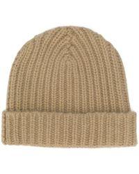 Warm-me Alex Cashmere Beanie Hat - Natural