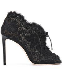 Jimmy Choo Zapatos de tacón Kaiana con encaje - Negro