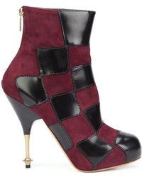 Vivienne Westwood - 'drama' Patch Boots - Lyst