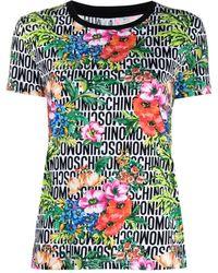 Moschino - ロゴ Tシャツ - Lyst