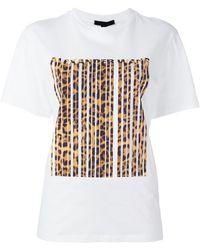 Alexander Wang Bonded Barcode T-shirt - White