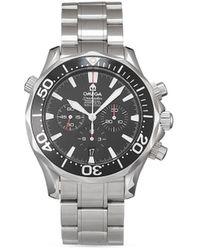Omega - Наручные Часы Seamaster 300 M Chrono Diver Pre-owned 41 Мм 2005-го Года - Lyst