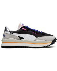 PUMA Baskets Style Rider Play On - Noir