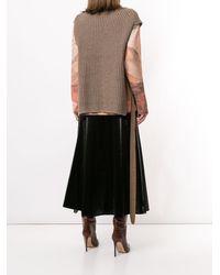 Goen.J Side-taps Knitted Top - Multicolour
