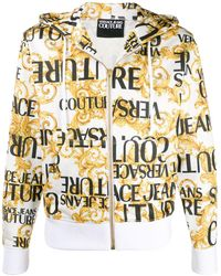Versace Jeans Couture ロゴ パーカー - ホワイト