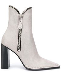 Alexander Wang Lane Ankle Boots - White